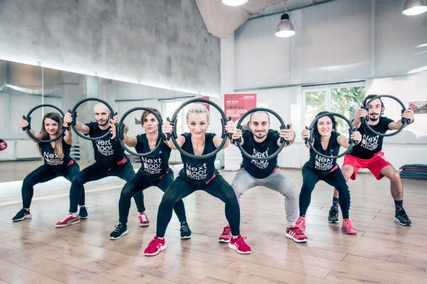 Pilates antrenament de tonifiere