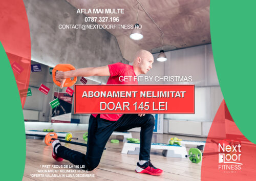 Get Fit by Christmas - oferta abonament nelimitat