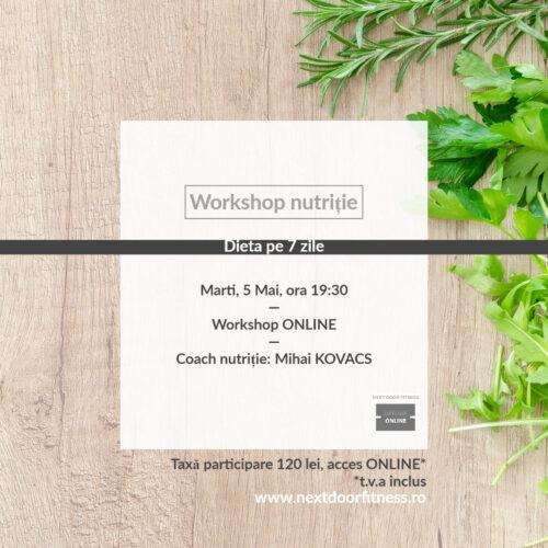 workshop nutritie